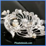 Wholesale Fashion Bird Shape Rhinestone Brooch Pin PFB-W032
