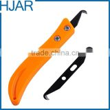 double edge carbon hook blade for flat yarn                                                                         Quality Choice