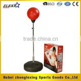 adjustable PU and steel 1.5 m boxing punching balls