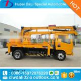 JAC 10m Truck mounted articulated boom lift by single man for maintain