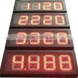 led counter outdoor electronic advertising led display screen small counter display racks