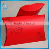 Customized folding paper gift bags for packing silk scarfs unique design paper box for silk scarfs