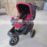 2016 Hot selling best quality cheap fancy baby pram baby buggy, softtextile baby tricycle baby buggy
