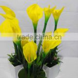 New Product 2016 real touch artificial flowers artificial calla lilies for beautiful decoration