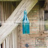Esschert Design wholesale art craft glass bottle windchime/wind chime                                                                                         Most Popular