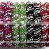 SIMPLY AWESOME DESIGNER HAND CRAFTED LAC LADIES BANGLES