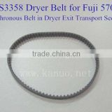 323S3358 Dryer Belt for Fuji Frontier 570 /Synchronous Belt in Dryer Exit Transport Section