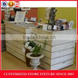 Save space cash wrap counter displays stand for shop