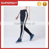 Y12 Stripe Womens Tight Pants Leggings Fitness Stretch Leggings Athletic Running Yoga Pants