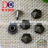 Hot Sale Star Shape Jeans Button Rivet and Studs Custom Leather Rivets for Bag