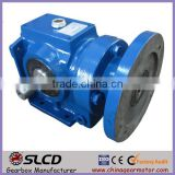 S series worm gear motor gear right angle drive gearbox for conveyor