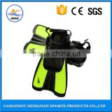 Wholesale promotional highest quality fashional diving scuba flipper