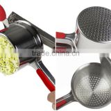 Stainless Steel Mash Potato Ricer Masher/ Fruit Press With Soft Touch Handles                                                                         Quality Choice