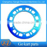 High Quality 4-axis CNC 219 sprocket Race Kart Use