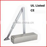 High quality grade adjustable hydraulic door closer with backcheck,delay,action function