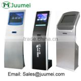 Table ticket dispenser system kiosk with ticket printer wireless paging system