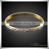 Athenaa Hot Selling Wholesale Factory Price Gold Plated Daily Wear Bangle