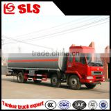 Dongfeng 3 axles chemical liquid transportation truck, tanker truck for chemical ransporter with cummins engine