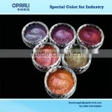 high quality rainbow series color changing(chameleon color) pearl pigment for auto paint/make up