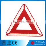 Emergency car parts kits type auto accessories of safety sign set triangle