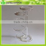 DDJ-0100 Trade Assurance Chinese Factory Wholesale Countertop Rotating Acrylic Jewelry Display Stand