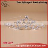 Miss beauty queen crown for sale rhinestone bride tiaras wedding