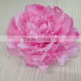 22cm large silk flower artificial pink peony flower head for wedding decoration wholesale flowers artificial