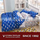 new fashion printed bed in a bag sets queen and king size bed comforter cover sets for boy bedroom