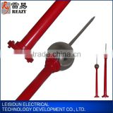 Current-Limiting single ball lightning rod ball diameter=500mm, H=3m types of lightning arrester