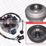 Magneto Stator 6 Pole 6 Wire Flywheel Rotor Kit Lifan 1P55FMJ 140CC Lifan Xmotos Kaya Apollo Dirt Pit Bike Parts