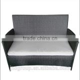 Cheap outdoor loveseat rattan furniture