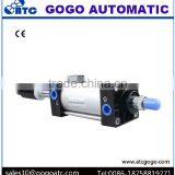 Execution element Pneumatic Double rod cylinder acting actuator