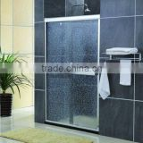 New aluminum alloy frame glass shower enclosure , double sliding glass shower cubicle,elect glass shower door screen KDS-PM02-1
