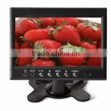 black color dc12 volt 7inch flip down motorized lcd car monitor