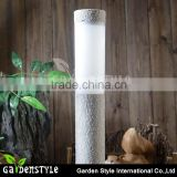 led light lamp Stone Pillar white light, lighting and lamp garden Courtyard Decoration Lamp, resin material lamp led