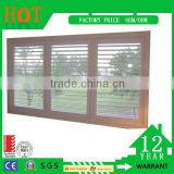 Aluminum Alloy Window Frame Material and Horizontal Opening Pattern Shutter Window AL Window