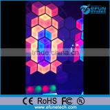 3D visual effect led honeycomb light for disco/dj/nightclub wall background light decorative
