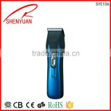 Factory good price precision manual steelless blade quiet Electric Professional Hair Clipper trimmer tools two speed OEM