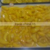 Top profession manufacture delicious canned yellow peach in syrup