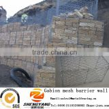 China manufacturer hexagonal gabion boxes EN standard stone cages for retaining wall gabion mesh barrier wall