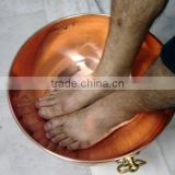 Solid Copper Bowl for Pedicure