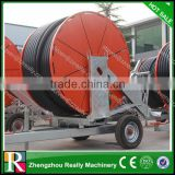 mobile wheel agricultural sprinkler automatic farm irrigation system