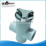 White PVC Fitting Bathtub Parts Water Pressure Reducing Valve
