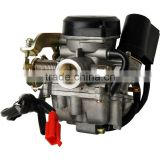 Motorcycle Carburetor for GY6 SCOOTER MOPED 50cc CARBURETOR CARB ROKETA SUNL Chinese Vespa black