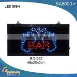 outdoor bar open led sign BD-012 for advertising