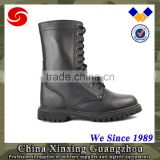 Waterproof winter hiking boots black leather men tactical boots USA