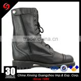 Custom made high ankle black pilot woodland army boots shoes s3/black army military boots