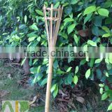 Handmade bamboo torch, bamboo tiki torches for outdoor decoration