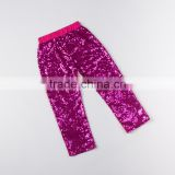 Hot Pink Baby Pants Girls Sequin Leggings Wholesale Cotton Icings Leggings,Sequin Baby Pants for Toddlers