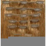 Grade 6A Tangle free Sell Clip Pre-bonded  10-32inch Hair Weaving For White Women Deep Curly